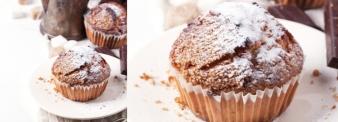 Muffin con farina di nocciole