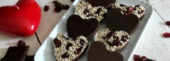 Puffed hearts