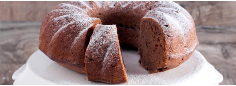 Torta al cioccolato con farina di grano tenero tipo 1
