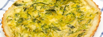 Quiche ricotta e zucchine senza glutine