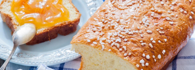 Plum cake con farina di soia