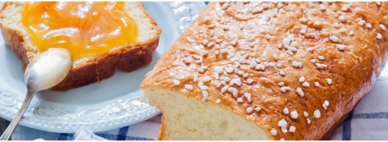 Plumcake with soy flour