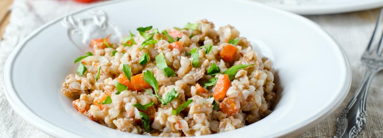 Insalata grano saraceno e verdure