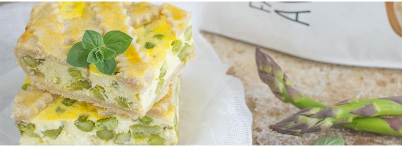 Torta salata al farro e avena