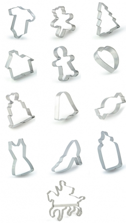 VARIOUS COOKIE CUTTERS MR