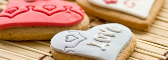 Saint Valentine biscuits