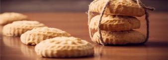 Biscotti senza glutine con farina di riso