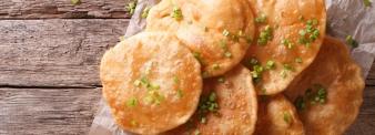 Chickpeas pancakes