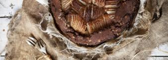 Torta soffice cioccolato e pere