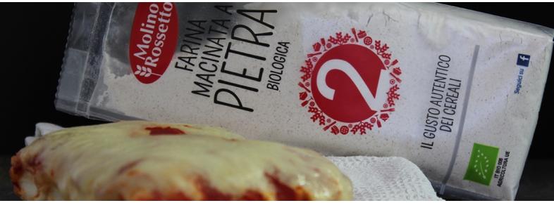 pizza with stoneground flour type 2