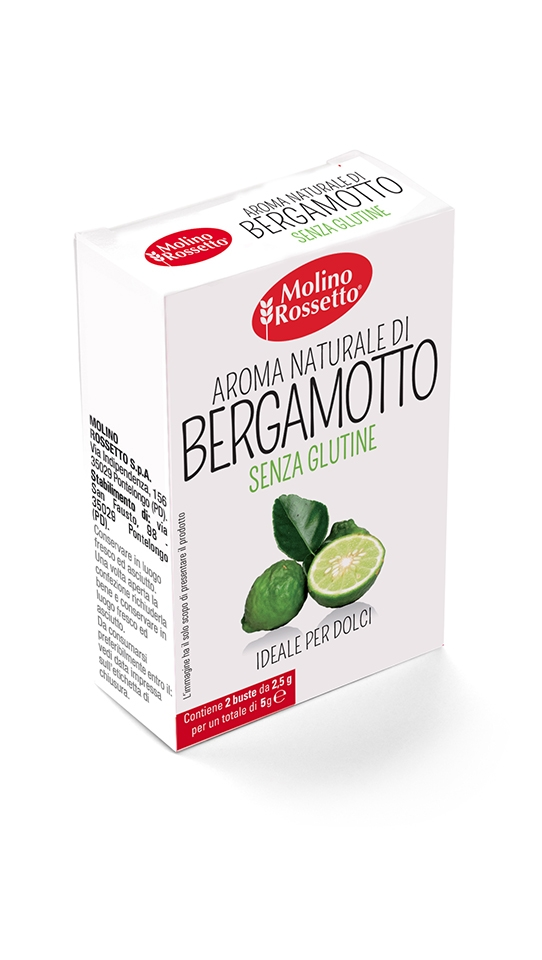Natural Bergamot extract - gluten-free - 2 CASES X 0,88 OZ (2,5 G)
