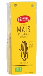 Organic Whole Maize Flour 100% italian maize - gluten free - 17,64 (500 G) -