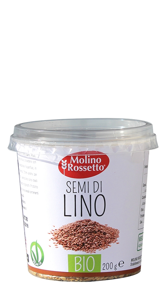SEMI DI LINO - BIO IN CUP - 200 G -