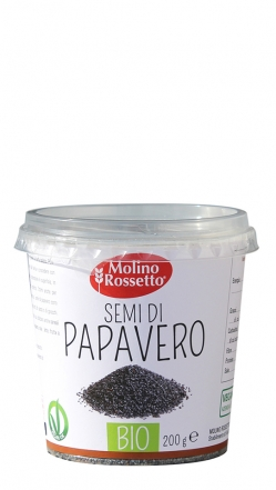 152 - SEMI DI PAPAVERO - BIO IN CUP - 200 G -