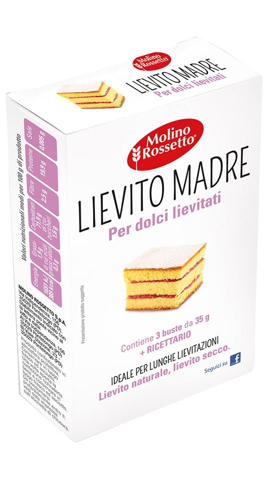 Lievito madre per dolci lievitati - 3 buste per 35g cad -