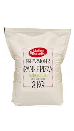 MIX PANE PIZZA - GLUTEN FREE 3 KG MR