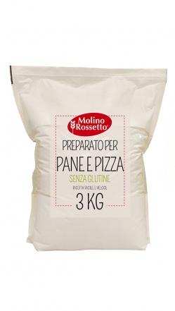 MIX PANE PIZZA - GLUTEN FREE 3 KG MR