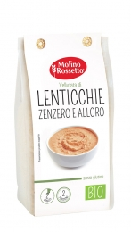 ORGANIC GLUTEN-FREE SOUP WITH LENTILS, GINGER AND LAUREL 80 G MR