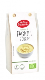 ORGANIC GLUTEN-FREE SOUP WITH BEANS AND CURRY 80 G MR