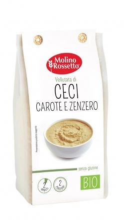 VELLUTATA DI CECI CAROTE E ZENZERO - SENZA GLUTINE - BIO - 80 G -