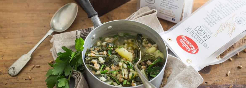 Zuppa di bietola e patate