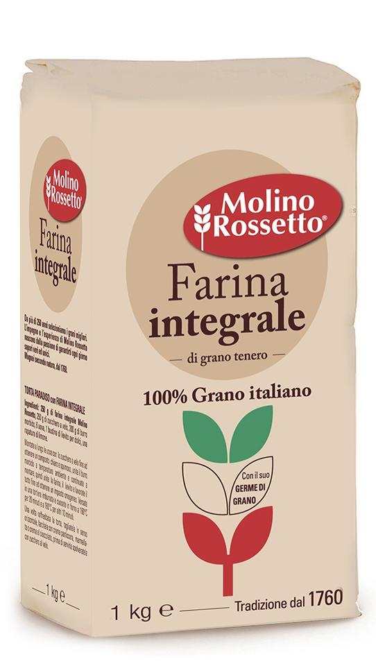 Farina integrale 100% grano italiano - 1kg -
