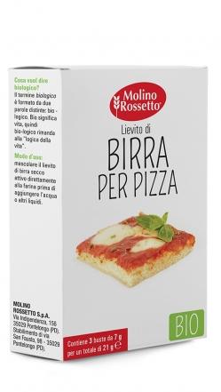 LIEVITO DI BIRRA PER PIZZA - BIO - 3 BUSTE PER 7 G -