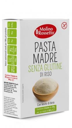 PASTA MADRE DI RISO - SENZA GLUTINE - 3 BUSTE PER 20 G -