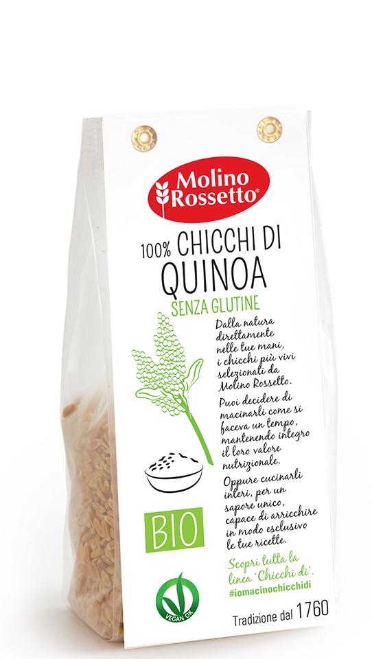 CHICCHI DI QUINOA  - senza glutine - 250 G -