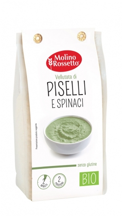 ORGANIC GLUTEN-FREE SOUP WITH PEAS AND SPINACHES 80 G MR