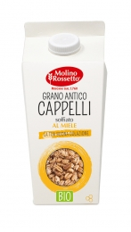 ORGANIC PUFFED CAPPELLI WHEAT WITH HONEY  - 180 G -