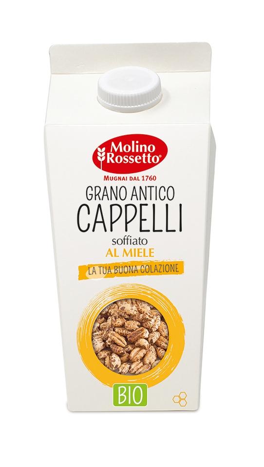 GRANO ANTICO CAPPELLI SOFFIATO AL MIELE -BRIK - 180 G