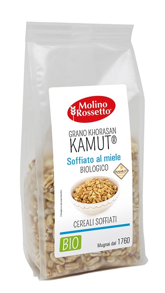 Grano KHORASAN KAMUT® al miele soffiato biologico - 150g