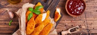 Pollo Fritto con farina di mais