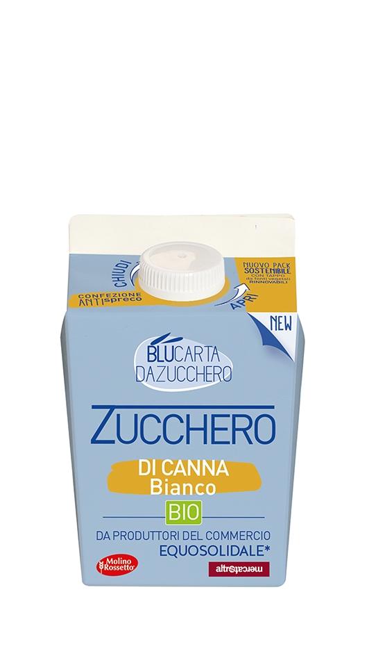 168 - ZUCCHERO CANNA BIANCO BIOLOGICO - 500G