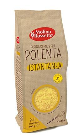"Instant yellow ""polenta"" (cornmeal mush) - 14,11 oz (400 g) -"