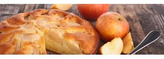 Apple pie with oat flour