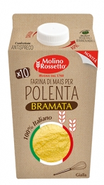 MAIZE FLOUR FOR YELLOW POLENTA 100% ITALIAN 750 G