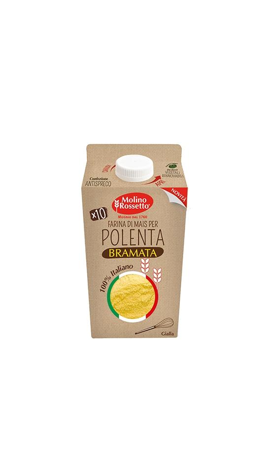 MAIZE FLOUR FOR YELLOW POLENTA 100% ITALIAN 750 G