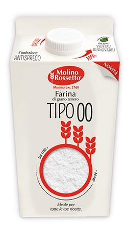 FARINA 00 100% GRANO ITALIANO TIPO 1 - BRIK - 750 G -