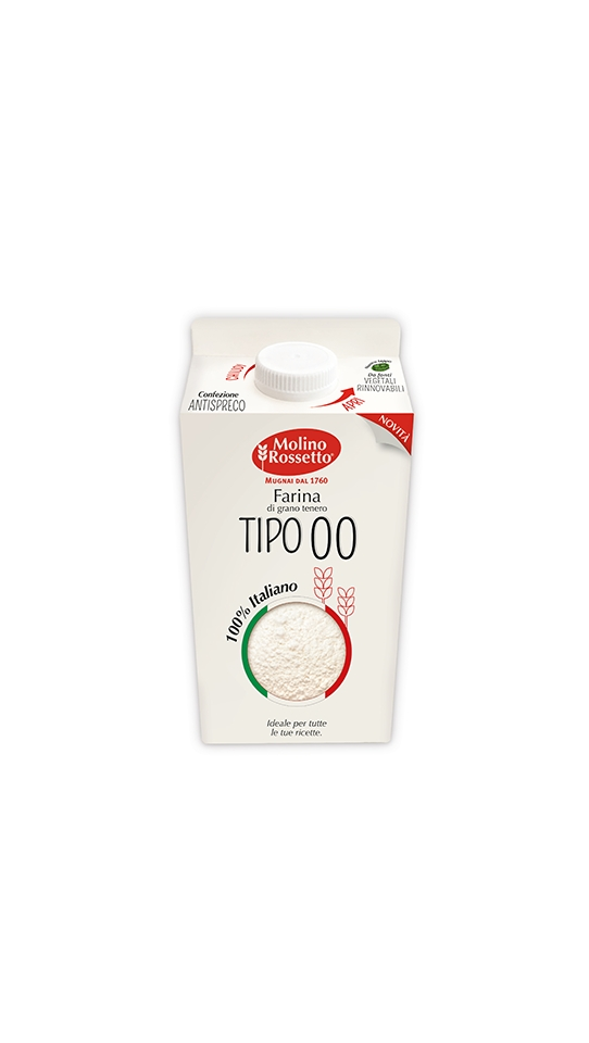 19 - FARINA 00 100% GRANO ITALIANO - VPACK - 750 G -