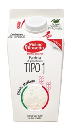 SOFT WHEAT FLOUR TYPE 00 100% ITALIAN WHEAT 750 G