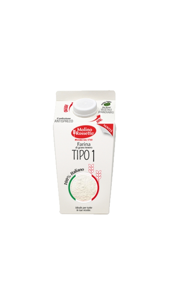 45 - FARINA DI TIPO 1 100% GRANO ITALIANO - VPACK - 750 G -