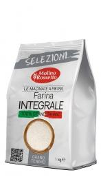 Farina di grano tenero INTEGRALE macinata a pietra - 1kg