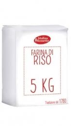 88 - FARINA DI RISO  - 5 KG -