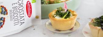 Quiche spinaci e salmone