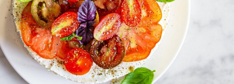 Crostata salata di Primavera vegetariana