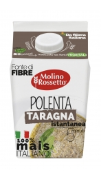 POLENTA ISTANTANEA TARAGNA - 100% MAIS ITALIANO - VPACK - 375 G
