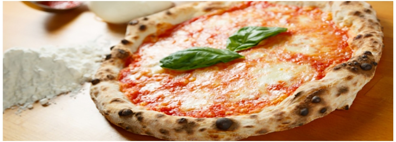 Pizza con farina W330 (impasto a mano)