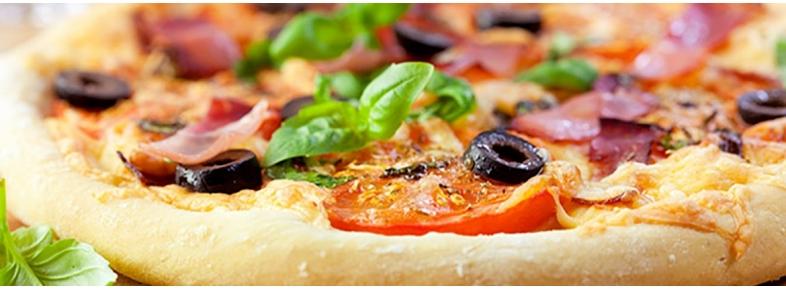 Khorasan and spelt pizza